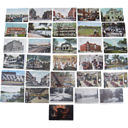 Lot 30 Postcards of Sioux City, Iowa c1900s/1910s