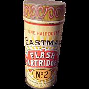 c1900s Advertising Tin for Eastman Flash Cartridges
