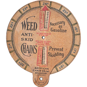 c 1910s Weed Chains Advertising Gasoline Price Calculator