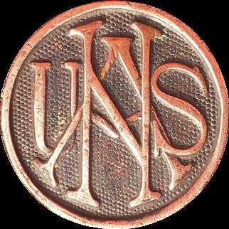 Victorian Era US Naval Academy Button