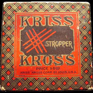 1921 Kriss Kross Stropper (Razor Blade Sharpener)
