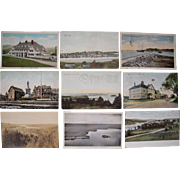 "Lot 63 c1910 Postcards of ""L"" Towns (Mainly Lewiston) in Maine"