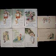 Lot 8 1910s/1920s Rose O'Neill Kewpies Postcards