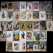Lot 37 Drinking/Drunks Postcards c1900s/1910s #2