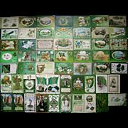 Lot 55 St. Patrick's Day Postcards 1900s/1910s #3