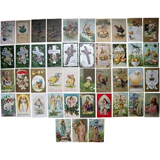 Lot 43 Easter Postcards 1900s/1910s #3