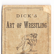 1887 Wrestling/Boxing Booklet