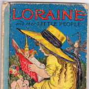 Book Loraine & Little People w/14 Art Nouveau Color Plates