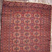 19th Century Antique Turkomen Rug 3' x 5'