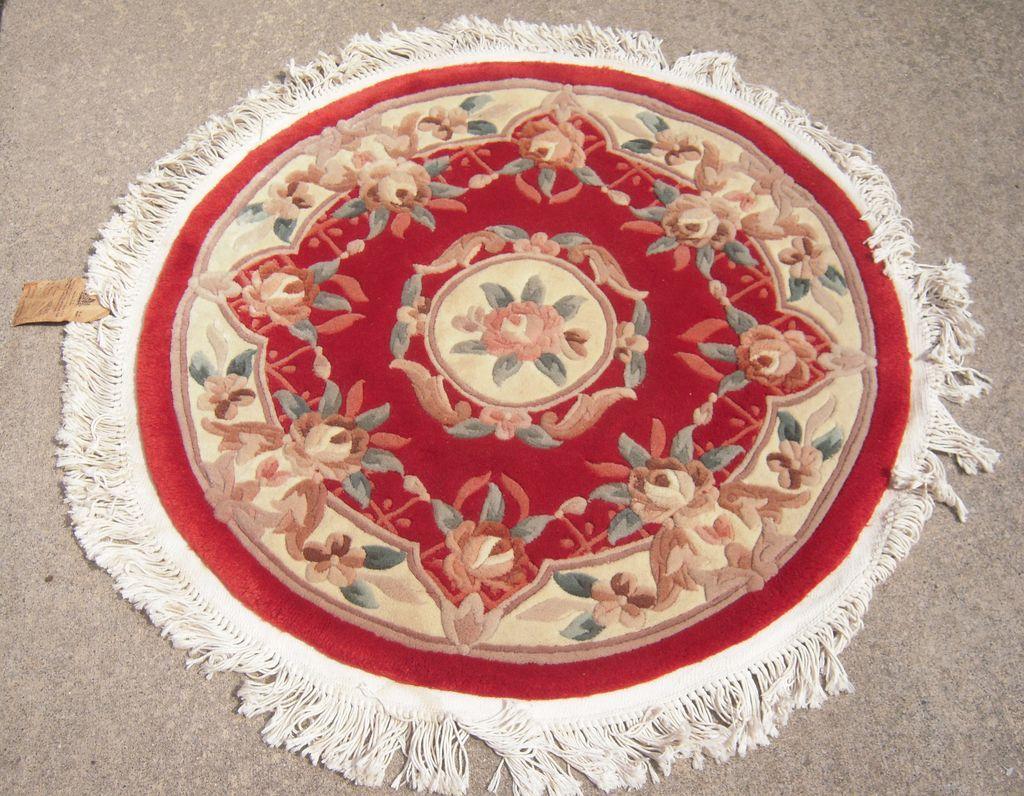 Oriental Round Rugs Home Decor