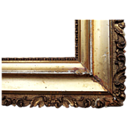 "Ornate Gold Victorian Picture Frame 13"" x 17"""