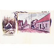 Lot of 9 1897 Alaska Patriographic Postcards
