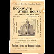 1896 Furniture Moving/Storage Advertising Booklet