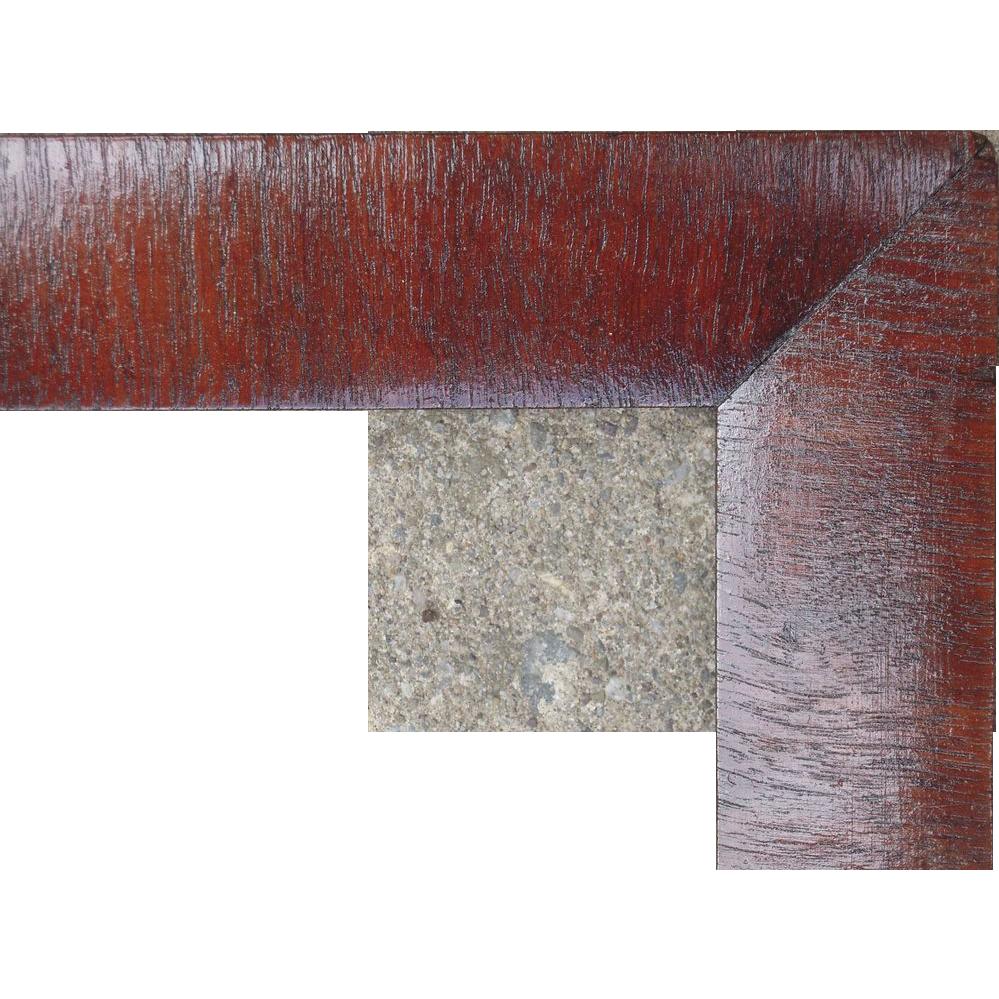 large mahogany veneer ogee picture frame 20 x 27 sold on ruby lane. Black Bedroom Furniture Sets. Home Design Ideas