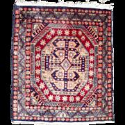 c1930s Vintage Persian Rug 2' x 3'