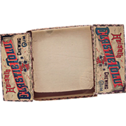 Heisels Chewing Gum Advertising Store Display Box