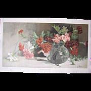 c1900 Mini Yardlong In Full Bloom