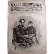 Harpers Weekly May 6, 1865 Lincoln Assassination Issue