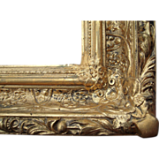 "Ornate Antique Deep Gold Victorian Picture Frame 20"" x 24"""