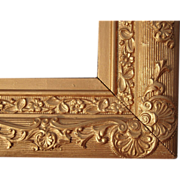 """Large Ornate Gold Victorian Picture Frame 18"""" x 25"""""""