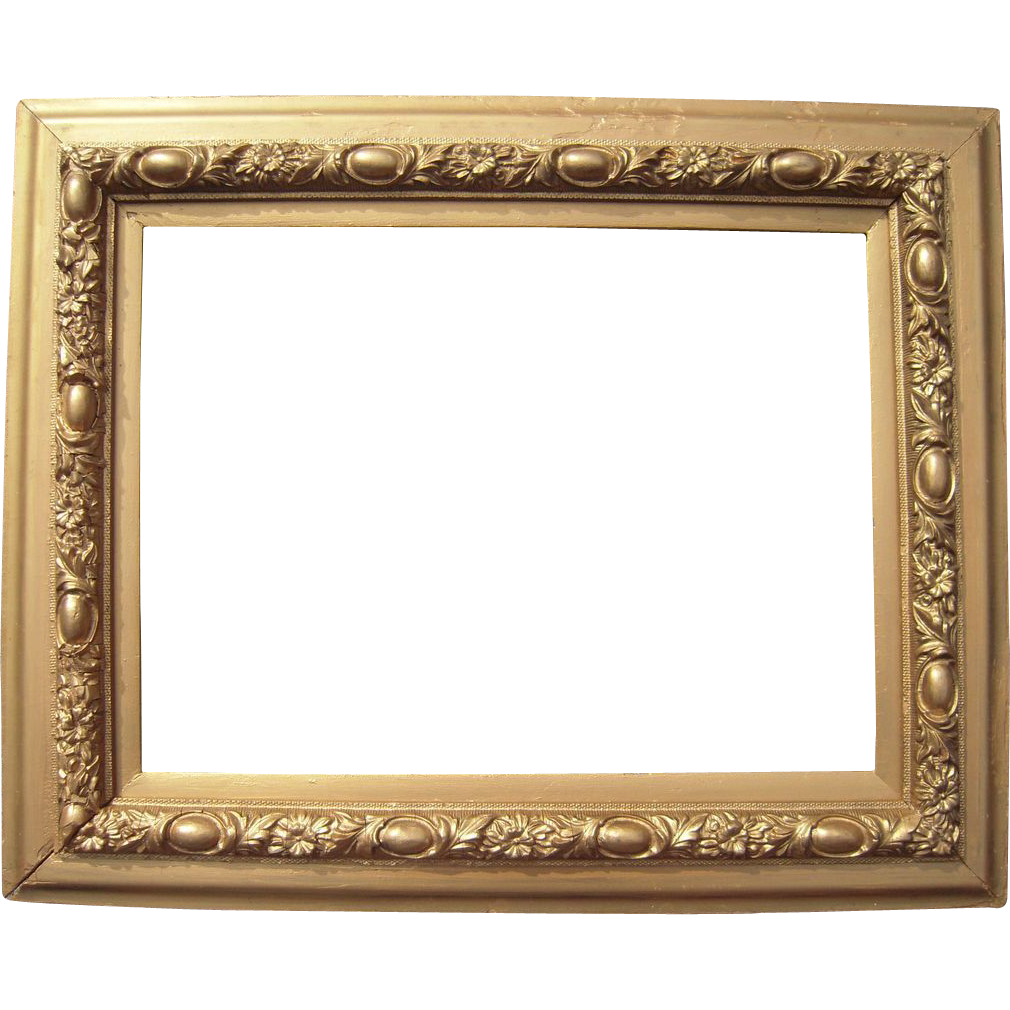"Ornate Victorian Gold Picture Frame 12"" x 16"" : Blue ..."