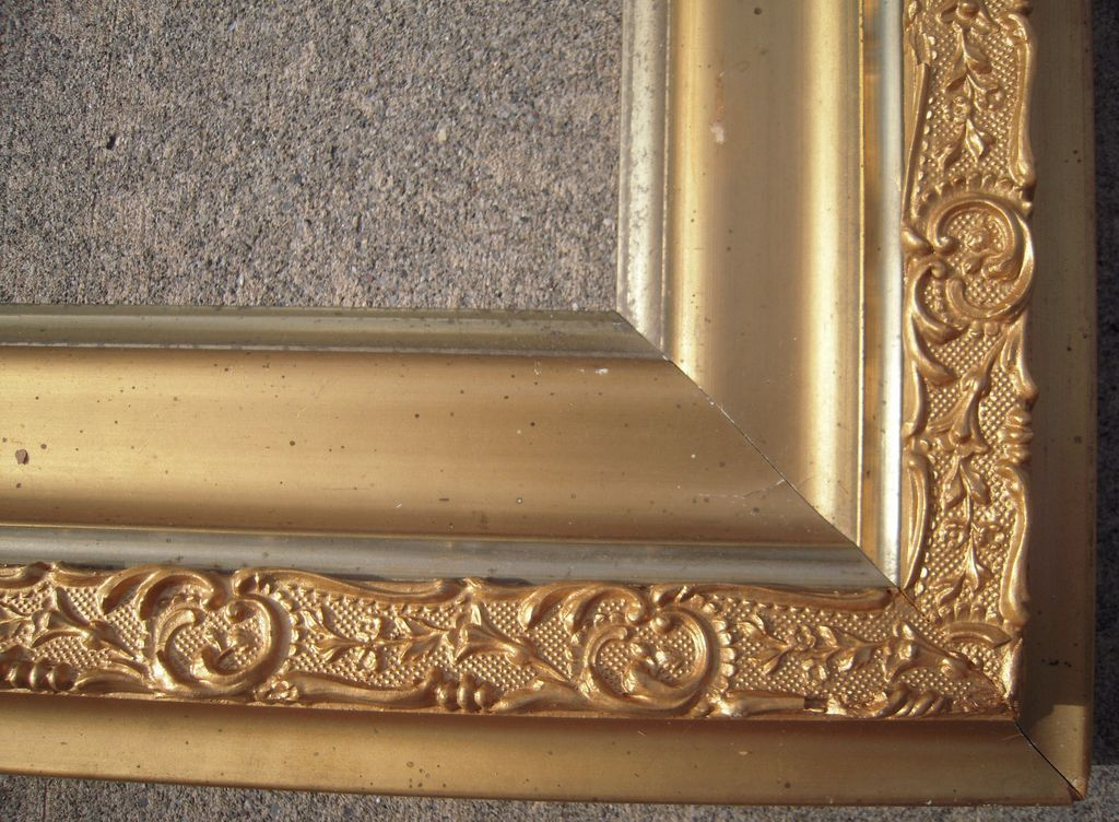 "Large Ornate Victorian Gold Picture Frame 20"" x 24"" from ..."