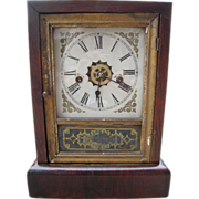 c1860s Waterbury Mantle Clock