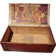 Victorian Era Ornate Advertising Cigar Box
