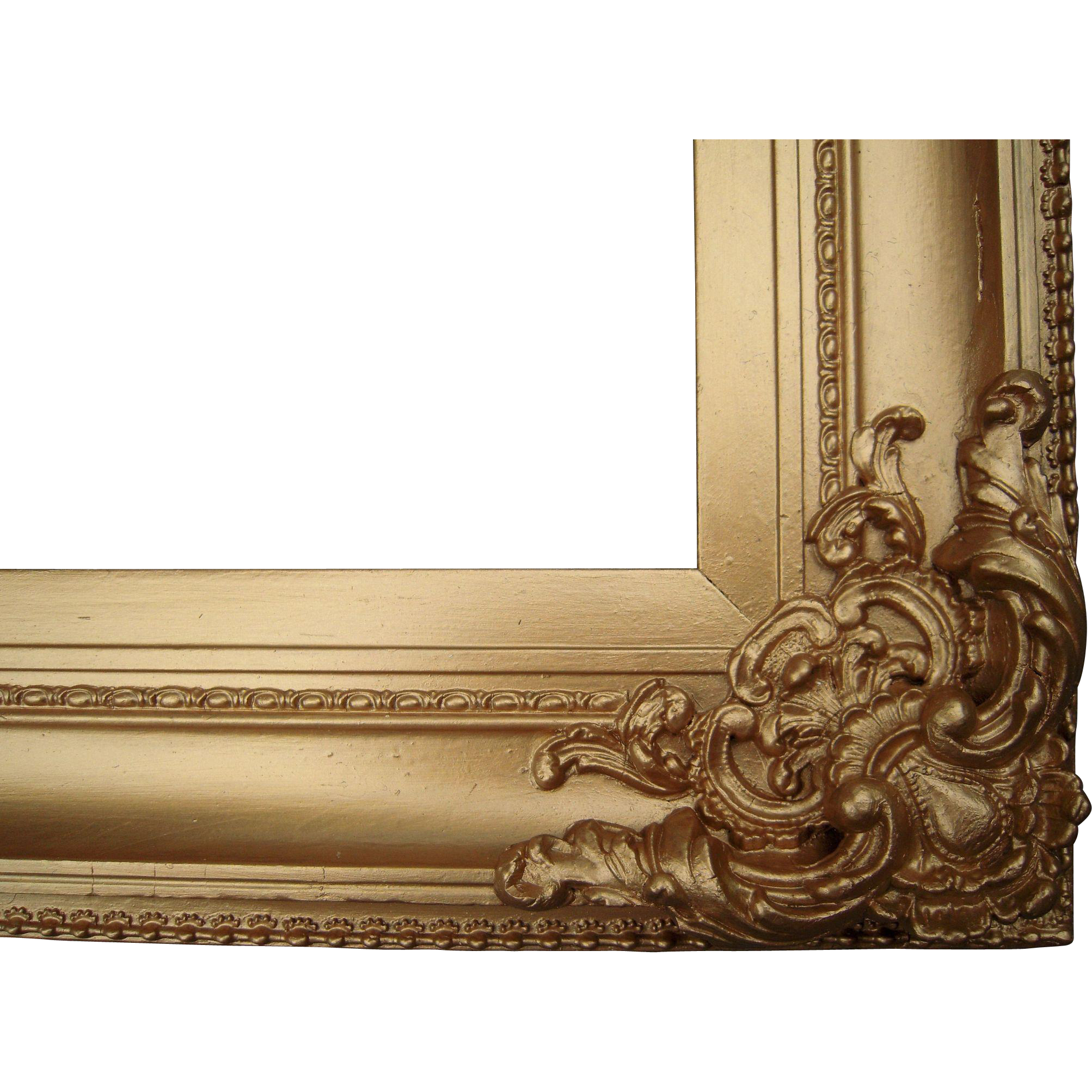 "Large Ornate Gold Victorian Picture Frame 20"" x 25"" : Blue ..."
