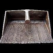c Early 1900s Metal Flax Comb/Cranberry Rake
