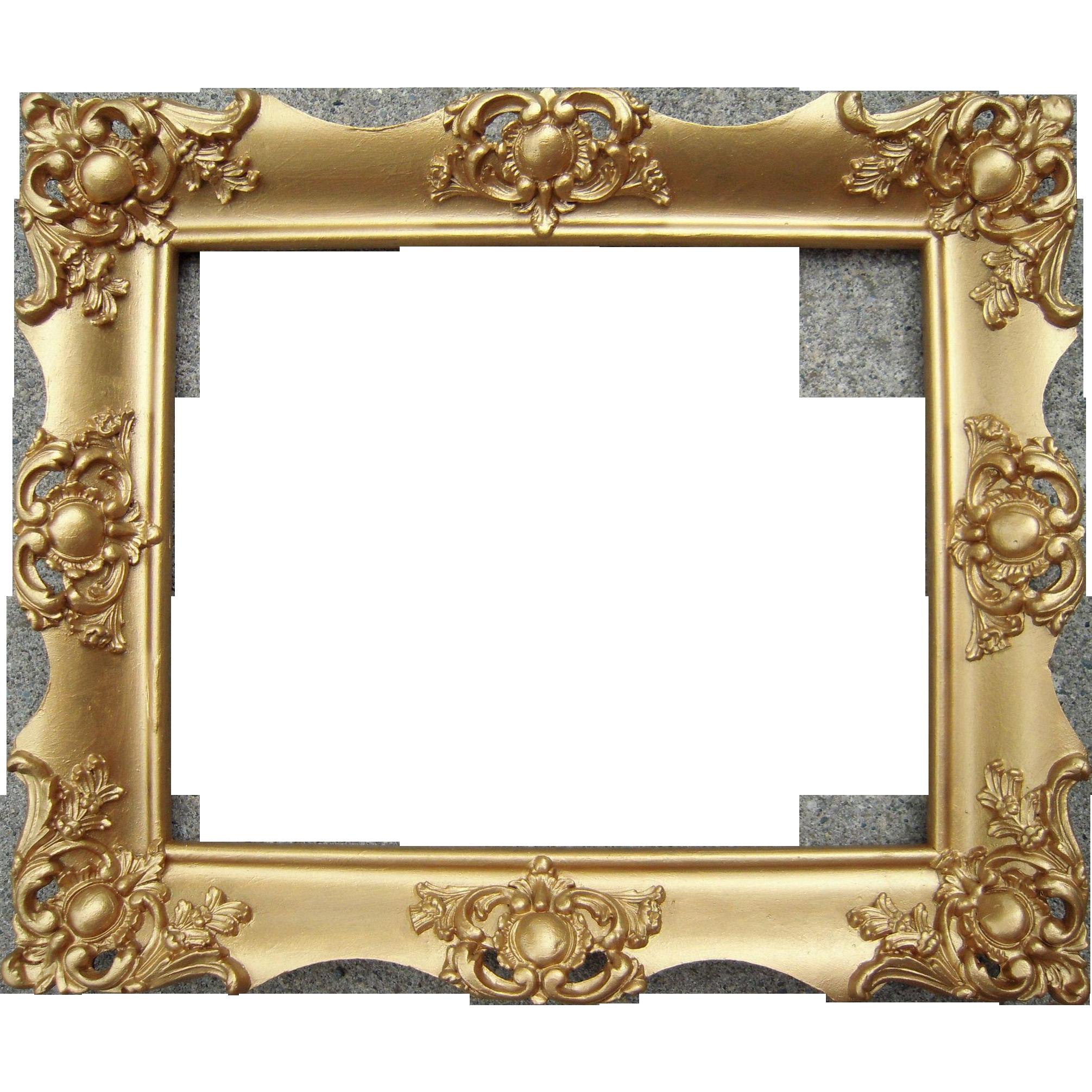 Vintage Gold Frame Glasses : Ornate Gold Victorian Picture Frame 8