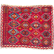 Vintage Table Top Size ( 1 1/2' x 2') Persian Rug