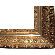 """Large Ornate Gold Antique Victorian Picture Frame 16"""" x 20"""""""