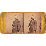 Stereoview of Civil War General Robert Schenck