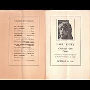 1928 Harri Emery Aviation Photos and Ephemera