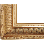 "Ornate Gold Victorian Picture Frame 12"" x 17"""