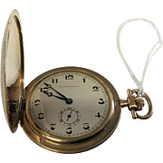 TAVANNES 14Kt GOLD Pocket Watch, Vintage