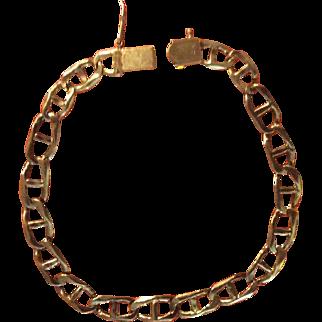 Mens Gold Bracelet 14Kt