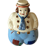 Vintage Shawnee Dutch Boy Cookie jar