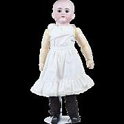 """1910s Antique German Walkure Bisque Doll 24"""""""