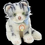 """1950s German Steiff """"Susi"""" Kitty Cat 5"""""""
