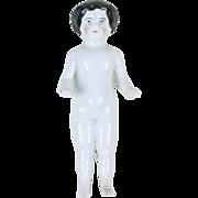"""1910s China Bisque Frozen Charlotte Figurine 6"""""""