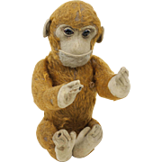 "1930s German Schuco Yes/No Mohair Monkey 11"""