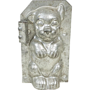 1910s Bonzo Dog Metal Chocolate Mold 5""