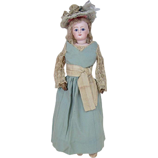 Beautiful Francois Gaultier Turn of the Century Large French Doll