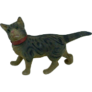 Early German Cat Candy Container in Excellent Condition
