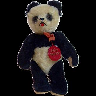 """German 1950's Schuco 8"""" Yes No Panda"""
