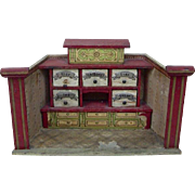 "German 7"" Room Store for Doll House"