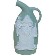 Unusual Schafer and Vater Santa Elf Drinking Whiskey Flask