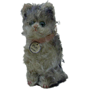 1926 Steiff Fluffy Cat with Underscored FF Button and ID